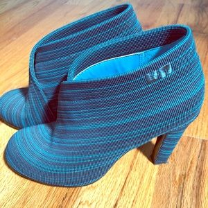 Gorgeous Turquoise Booties